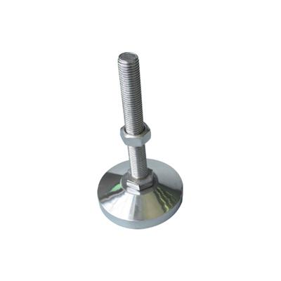 Adjustable stainless-steel screw foot