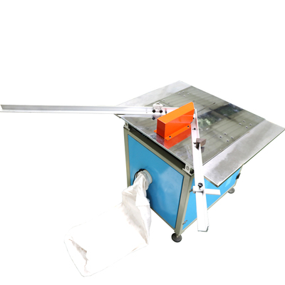 Dust-free angle cutter with a large bench