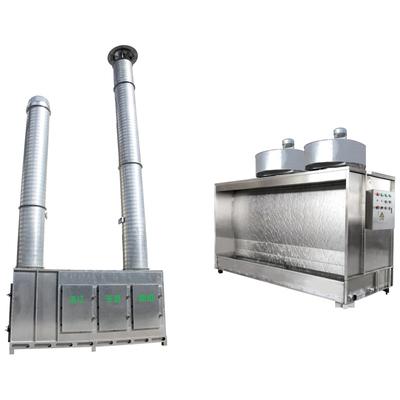 无泵水旋漆雾分离、空气净化处理设备